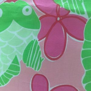 Lilly Pulitzer Fabric piece